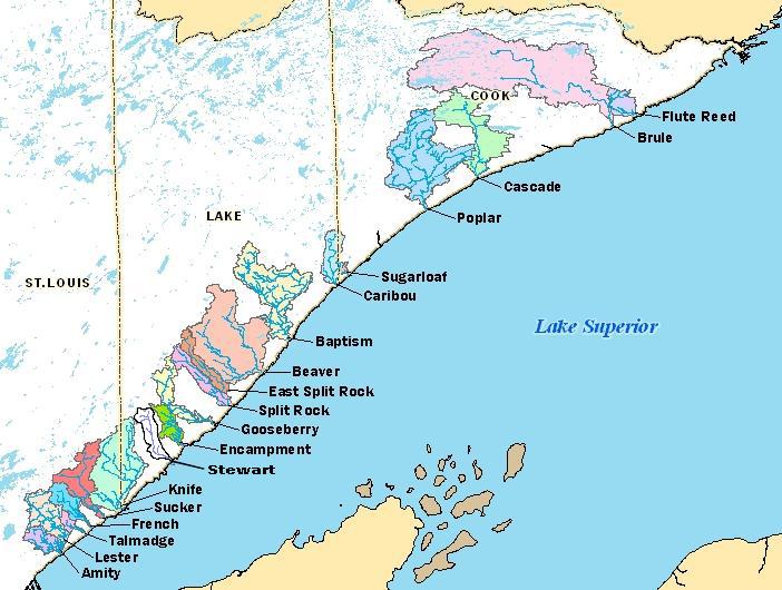 Lake Superior Streams: North Shore Streams