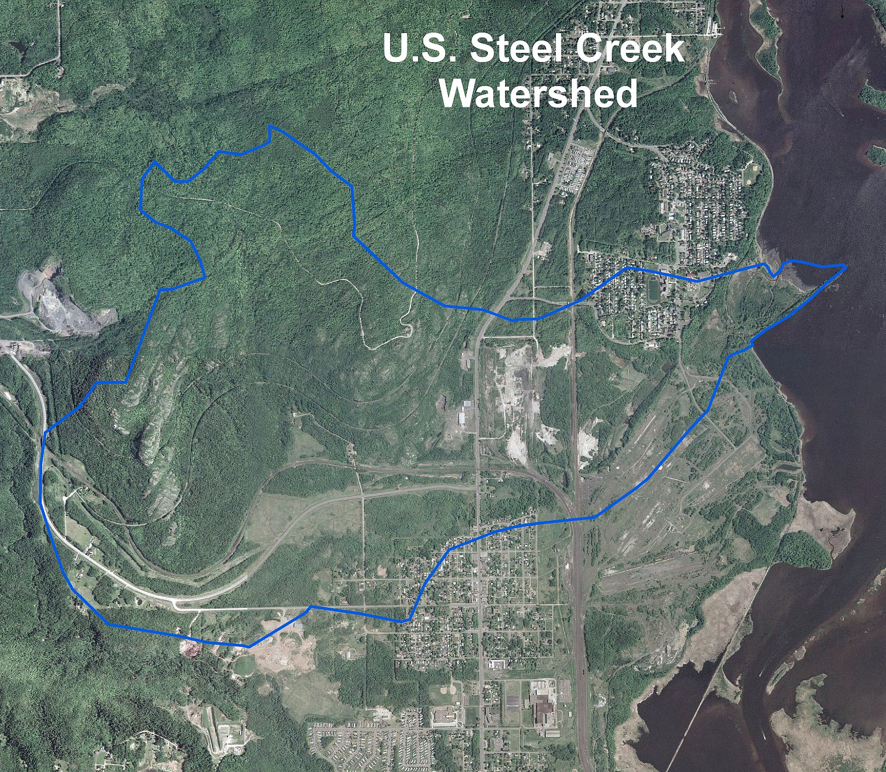 LakeSuperiorStreams US Steel Creek Maps - Us steel maps