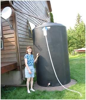 850 Gallon Rain Barrel
